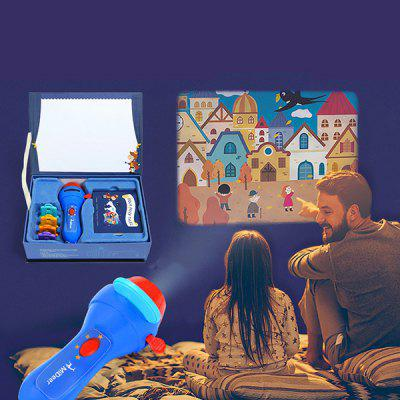 MiDeer Educational Story Book Torch Projector Toy for Kids