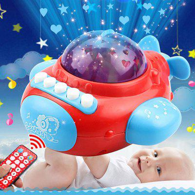 Remote Control Airplane Star Projection Story Machine