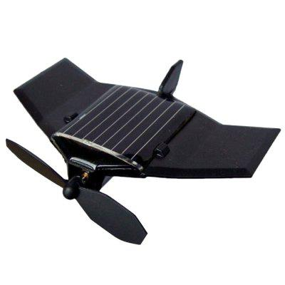 DIY Assembled Solar Power Plane Aircraft Toy for Kid Gift