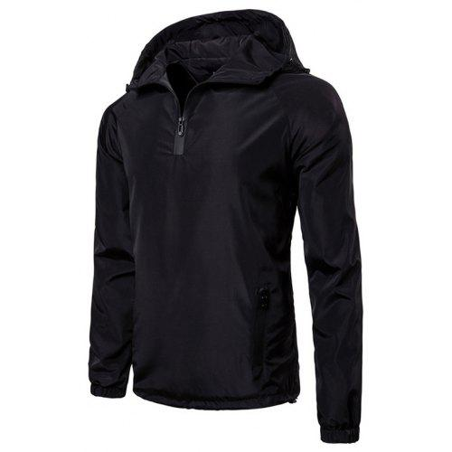 d4347063292 AOWOFS Waterproof Solid Color Hooded Coat for Man -  26.99 Free ...