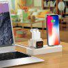 Creative Charging Stand Holder for iWatch / iPhone / Airpods - WARM WHITE