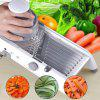 Multifunctional Stainless Steel Vegetable Cutter - GRAY