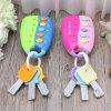 Baby Toy Musical Car Key Keychain Toy Smart Remote Car Voice 1pc - LIGHT PINK