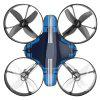 65A Mini RC Drone Quadcopter Altitude Hold Headless Mode One Key Return - STEEL BLUE