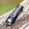ON THE ROAD M3 Pro Mini Safety Type-C USB Charging Flashlight Warm White - BLACK