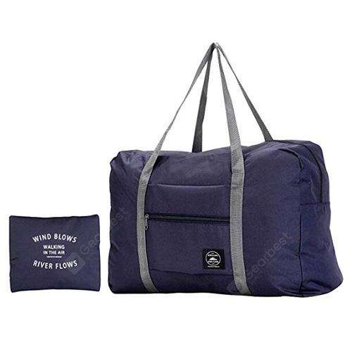 Large Capacity Folding Waterproof Packing Bag - CADETBLUE