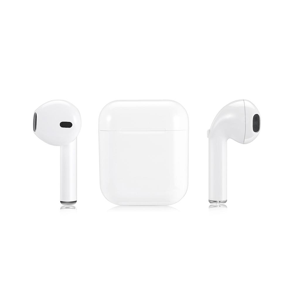 I9 TWS Smart Bluetooth Earphone Wireless Mini Earbuds - WHITE