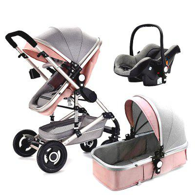 Lightweight Travel Baby Stroller Cart High Landscape