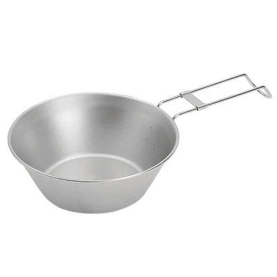 Outdoor Stainless Steel Camping Folding Picnic Bowl