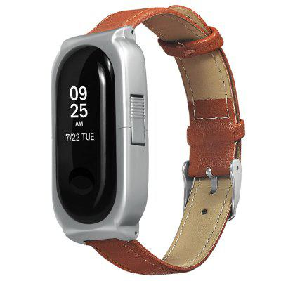 Replaceable Leather Belt for Xiaomi Bracelet 3