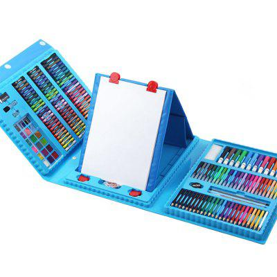 208pcs Children Painting Pen Suit with Easel