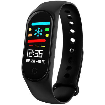 Only $6.59 for M3 0.96 inch Sports Smart Bracelet - BLACK