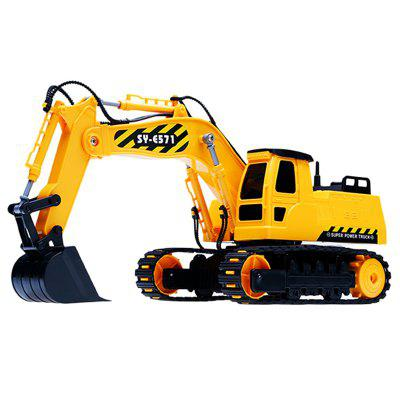 Double E E571 Excavator Engineering Vehicle Toy