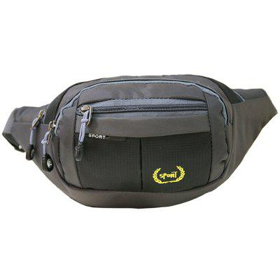 HUWAIJIANFENG 0313 Waterproof Large Capacity Multi-function Waist Bag for Storage