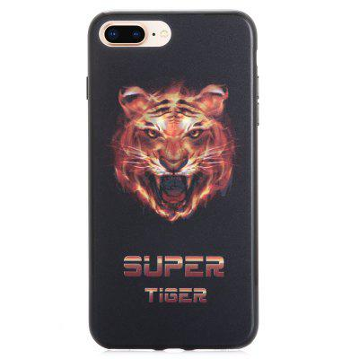 Custodia 3D Tiger con motivo stereo per iPhone 6 Plus / 6S Plus / 7 Plus / 8 Plus