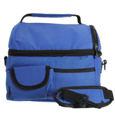 Convenient Picnic Lunch Storage Bag Shoulder Package Cold Pack