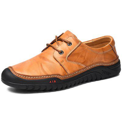Men Leisure Comfortable Business Casual Leather Shoes