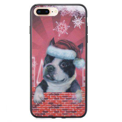 3D Stereo Flash Dog Pattern Case voor iPhone 6 Plus / 6S Plus / 7 Plus / 8 Plus