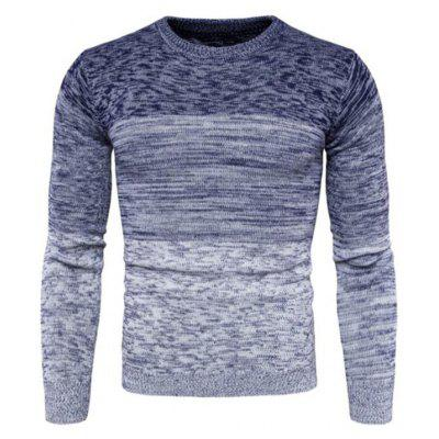 Pull confortable col rond pour homme