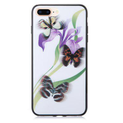 3D Stereo Flash Schmetterling Muster Case für iPhone 6 Plus / 6S Plus / 7 Plus / 8 Plus
