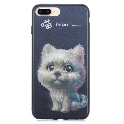 Custodia 3D Stereo Flash Cat Pattern per iPhone 6 Plus / 6S Plus / 7 Plus / 8 Plus