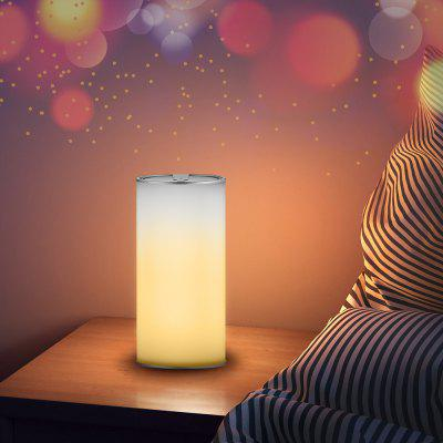 Gearbest Utorch YL304B 3D Indoor Smart Gesture Control Night Light - SILVER USB Rechargeable
