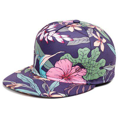 Fashion Flower Design Hip Hop Baseball Cap