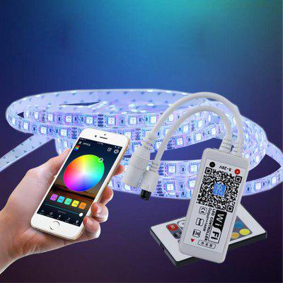 Controlador Inteligente de LED ZDM WiFi Wireless RGB LED com iOS Android DC5-28V