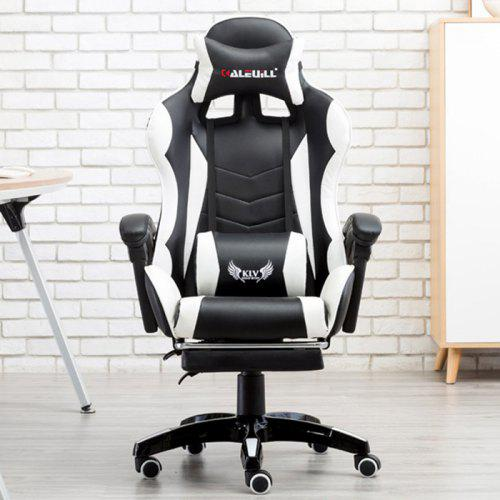 E-Sports Gaming Chair with Steel Feet Support