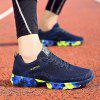 Thickening Sole Breathable Sneakers for Men - BLUE