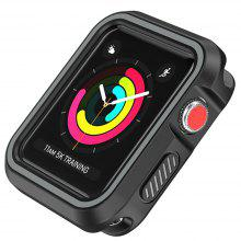 Silicone Sport Full Package Double Color Case for Iwatch1/2/3