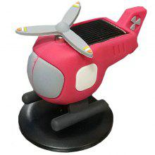 Cute Kids Educational Solar Plane Toy