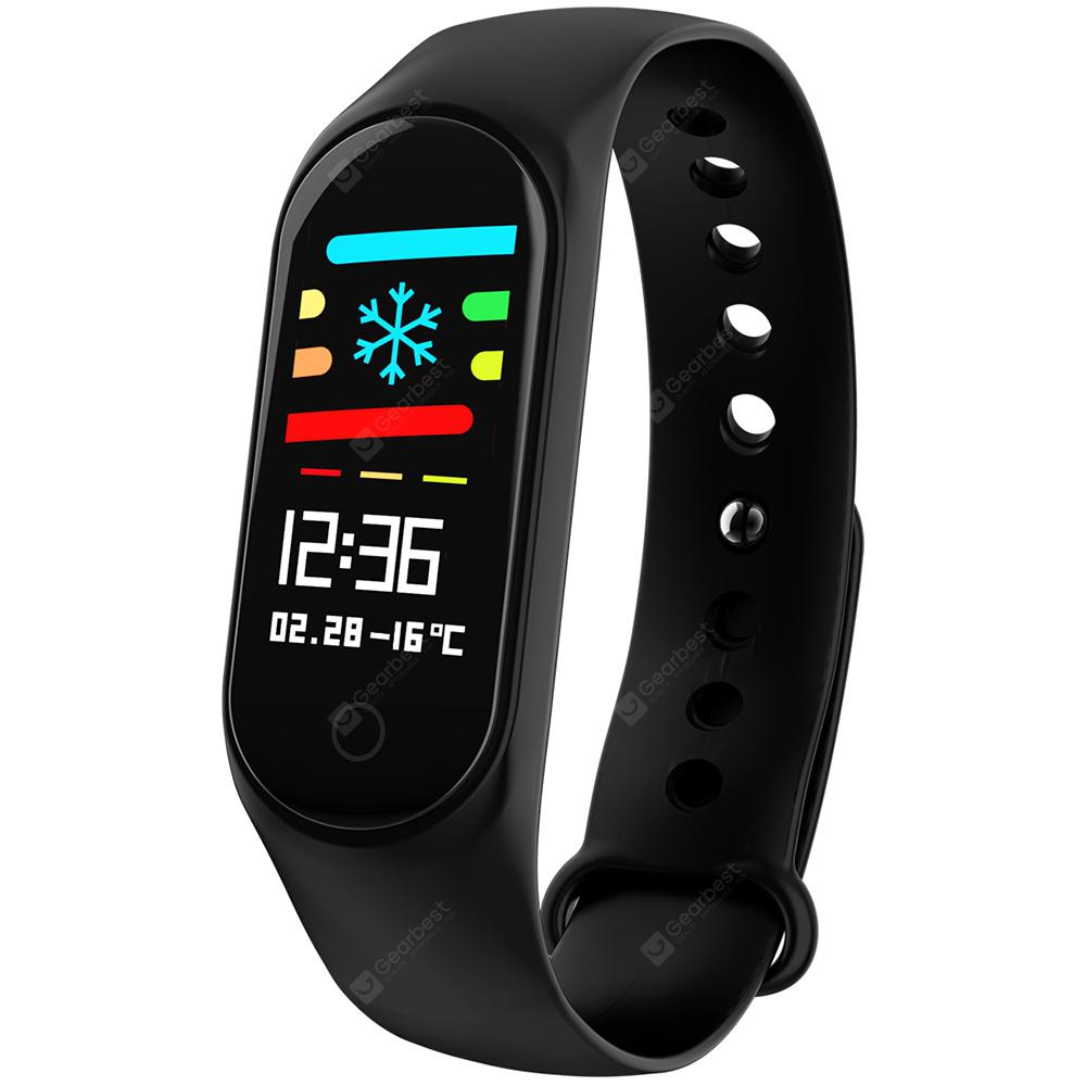 M3 096 pouces Sports Smart Bracelet BLACK