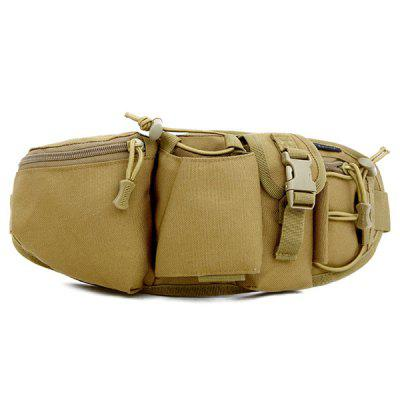 HUWAIJIANFENG Durable Polyester and Nylon Waist Bag for Outdoor Sports