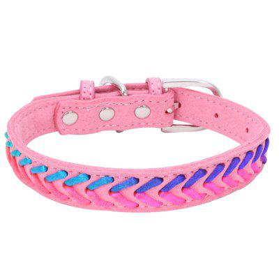 Colorful Nylon Pet Collar for Cats and Dogs