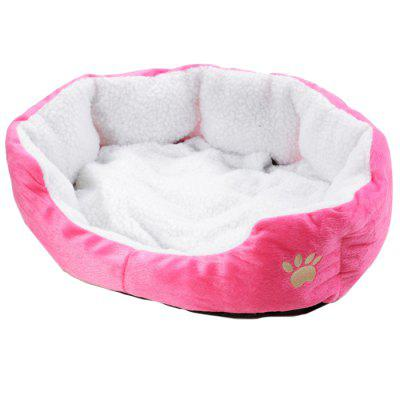 Soft Fleece Pet Bed for Cats and Dogs