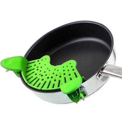 Foldable Adjustable Filter for Cooking