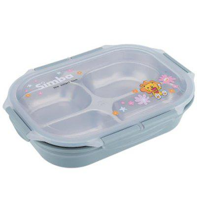 Stainless Steel Preserved Food Container for Eating Dishes