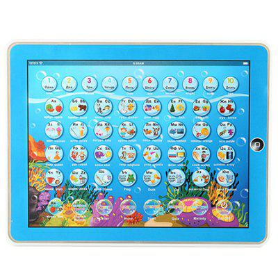 2D Multifunctional Learning Computer Tablet Toy