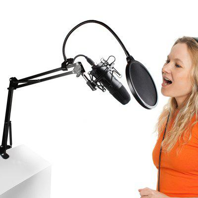 MAONO AU - 04 Hands Free Microphone with Omnidirectional Condenser