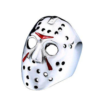 Stylish Creative Mask Shaped Ring for Men