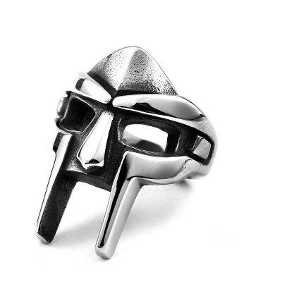 Stylish Egyptian Pharaoh Mask Shaped Ring for Men