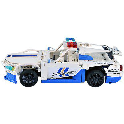 CaDA C51006W Remote Control Building Block Police Car for Entertainment