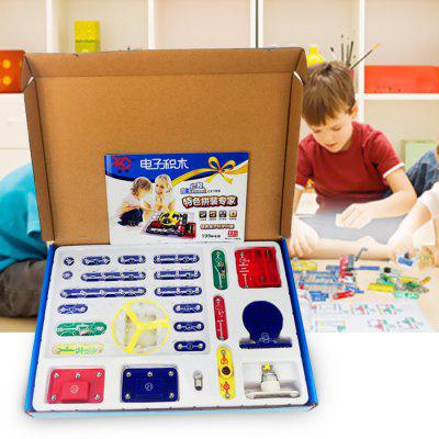 Electronic Building Blocks 199 Circuits Scientific Educational Toy from Gearbest