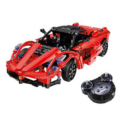 CaDA C51009W Remote Control Building Block Running Car for Entertainment
