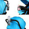 Cup Holder for Baby Carriage - BLACK