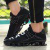 Outdoor Breathable Shock-absorbing Sneakers for Couple - BLACK