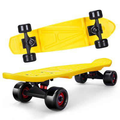 Trendy Kinder Coole Vierrad Street Skateboard 1pc