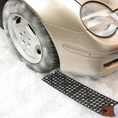 Car Tire Anti-slip Traction Mat Cross-country Equipment for Outdoor 2PCS