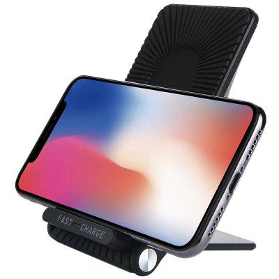 Qi Wireless Fast Charger Stand Three Coil with Cooling Fan